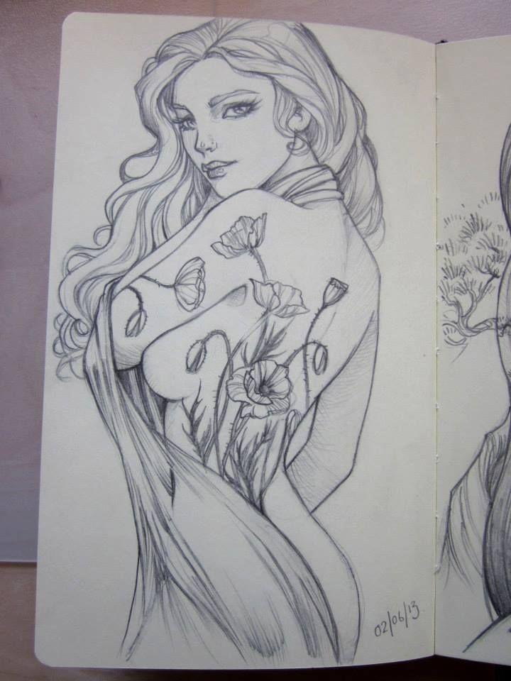 Sketch in the Moleskine