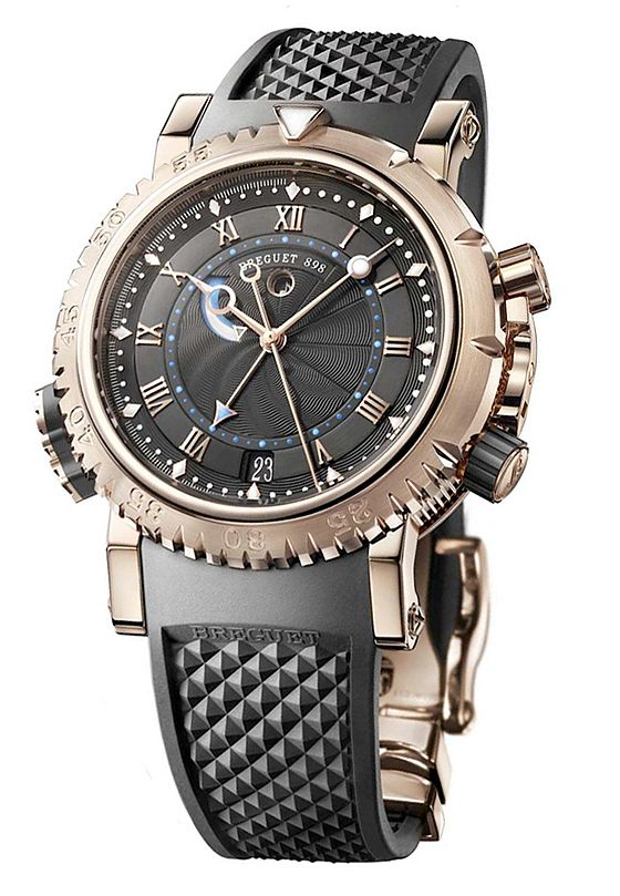 Depths of Complexity: 5 Ultra-Complicated Dive Watches | WatchTime - USA's No.1 Watch Magazine (Breguet Marine Royale(5847BR/Z2/5ZV))