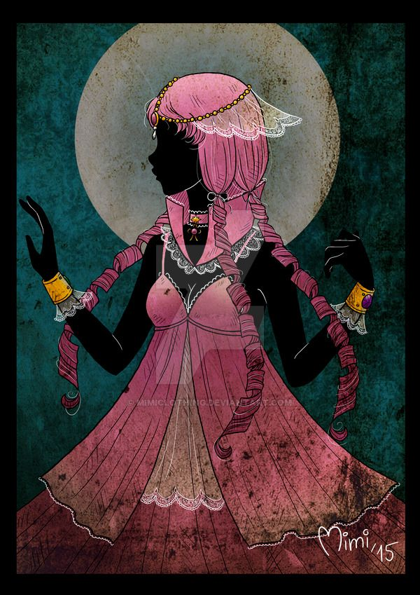 .crystal princess sailor mnemosyne by mimiclothing.deviantart.com on @DeviantArt