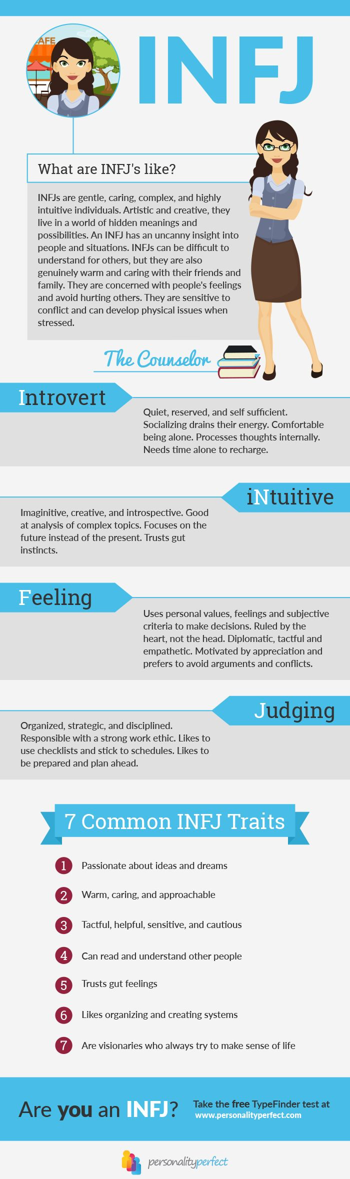INFJ Personality Type u2013 The Counselor Share t…