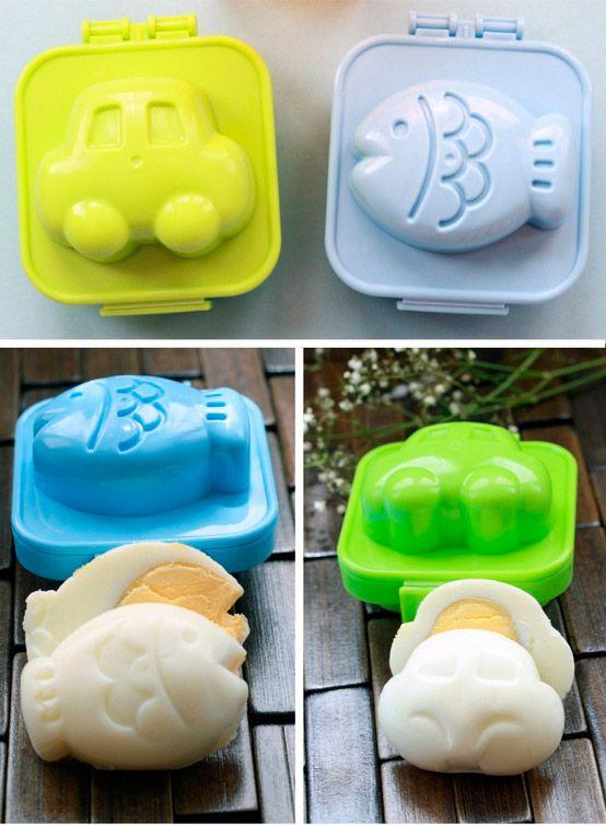 Формочки для варки яиц. Необычные кухонные гаджеты