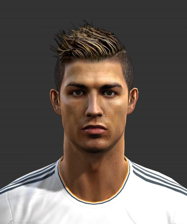 All Cristiano Ronaldo Hairstyles - http://www.dhairstyle.com/all-cristiano-ronaldo-hairstyles/
