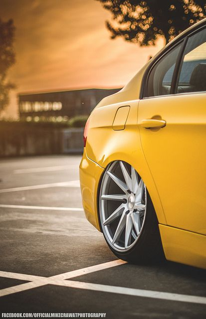 BMW E90 320d / Vossen Wheels & Accuair Suspension by MikeCrawatPhotography ♥, via Flickr