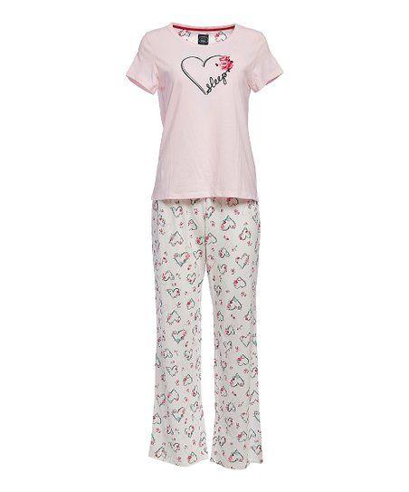 e46c13dbd7e Laura Ashley® Fresh Pink Sleep Pajama Set - Women