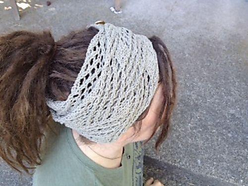 Ravelry: Dreadlock Wrangler Headband pattern by Mrs. Hudson's Yarns & Teas