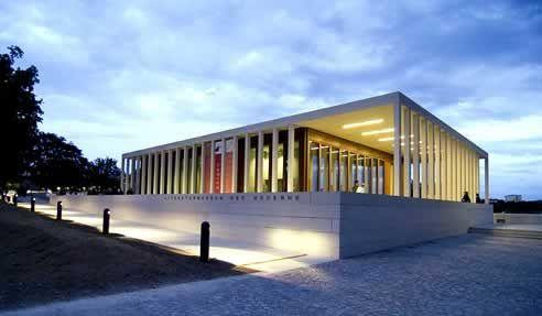 Literaturmuseum der Moderne, Marbach am Neckar, Germany.  David Chipperfield.