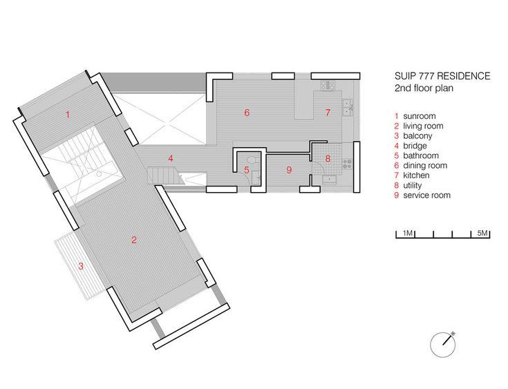 2nd floor plan  http://www.hjlstudio.com/suip-777-residence
