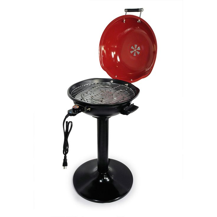Better Chef 15-inch Electric Barbecue Grill (Better Chef 94389580M), Black (Aluminum)