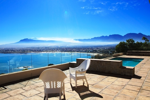Helderberg Mountain and seaside view - www.somersetwest-homes.co.za