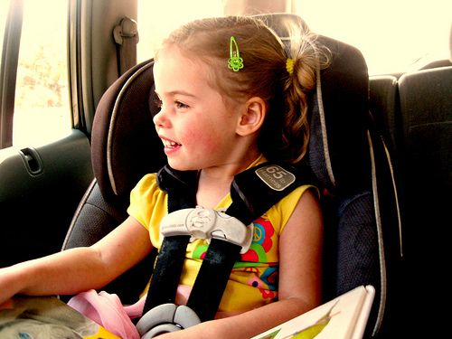 Holy Awesomeness! New Child Seat Could Save Kids Left In Hot Cars