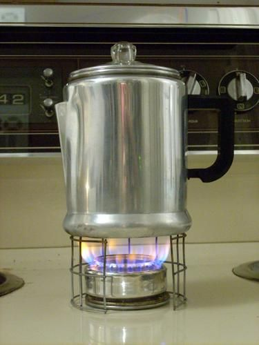 A soda can stove.  Camping, survival kit, you name it.
