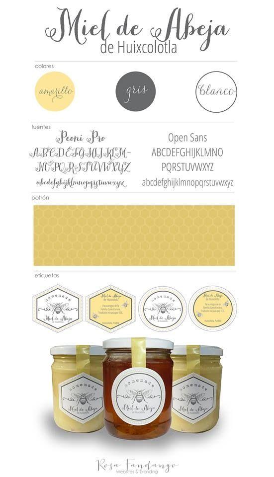 Miel de Abeja  Brand board