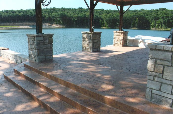Stamped Concrete Showroom : Best concrete designs images on pinterest