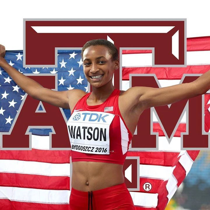 Sammy Watson signs with Texas A&M! Story on MileSplit.com(LINK IN BIO) . . . . . #milesplit #sammywatson #track #tracknation #college #recruiting #texas #aggietrack http://ift.tt/2qJhLFp