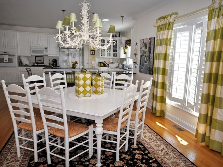 Yellow Kitchen Table Centerpiece