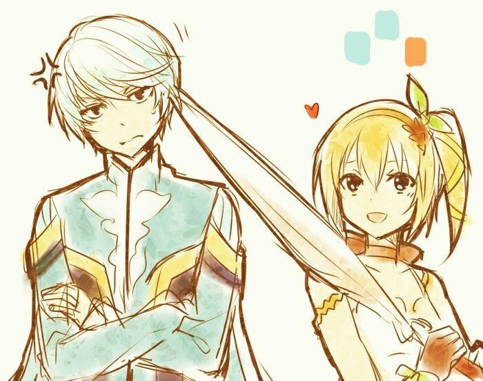 Mikleo & Edna