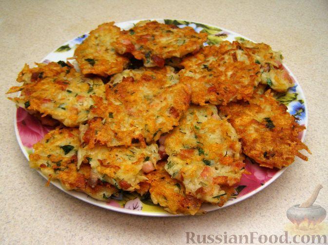 Картофельные оладьи с сыром и ветчиной. Обсуждение на LiveInternet - Российский Сервис Онлайн-Дневников
