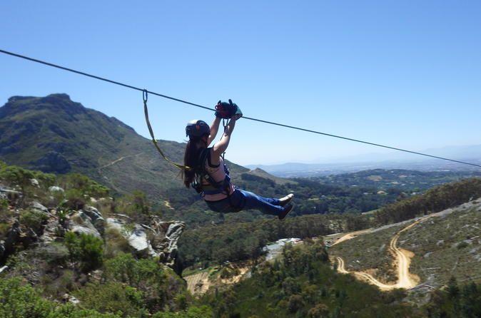Constantia Zipline Adventure in Cape Town