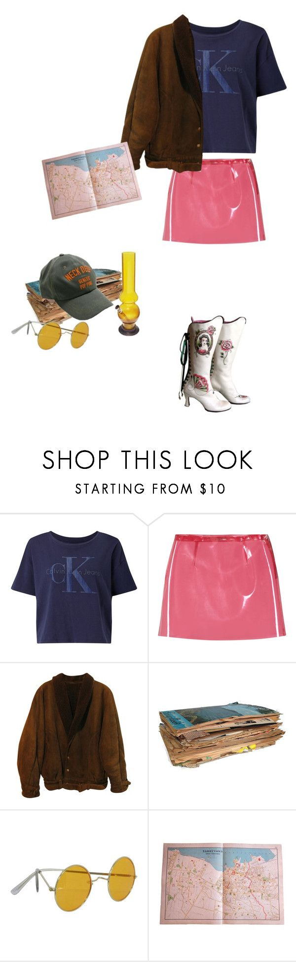 """""""I'm always tired"""" by asterplaster ❤ liked on Polyvore featuring Calvin Klein, Miu Miu and Zoot"""
