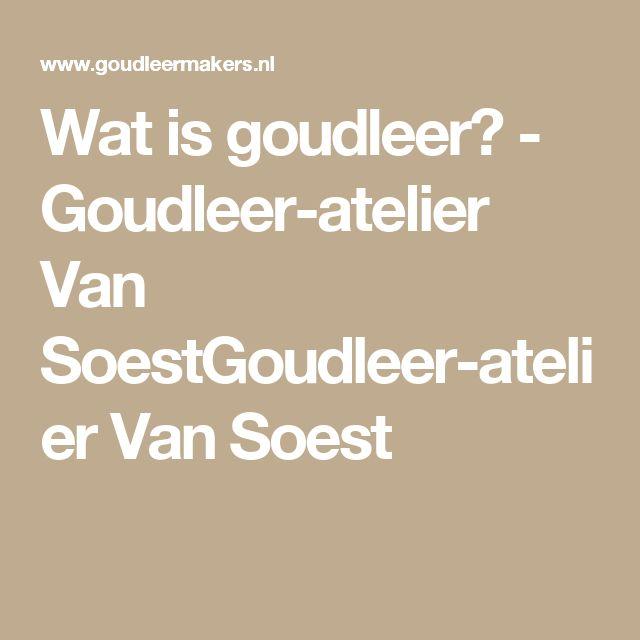 Wat is goudleer? - Goudleer-atelier Van SoestGoudleer-atelier Van Soest