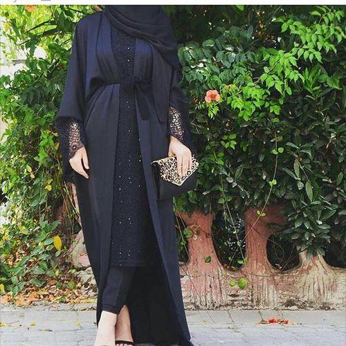 hijab, müslimah, and arabic image