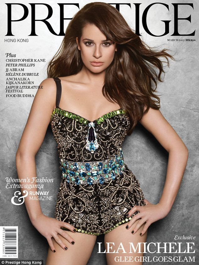 Lea Michelle: Hong Kong, Lea Michelle, Prestig Magazines, Indonesia, Photo Galleries, Strike A Poses, Fashion Magazines, Magazines Covers, Lea Michele