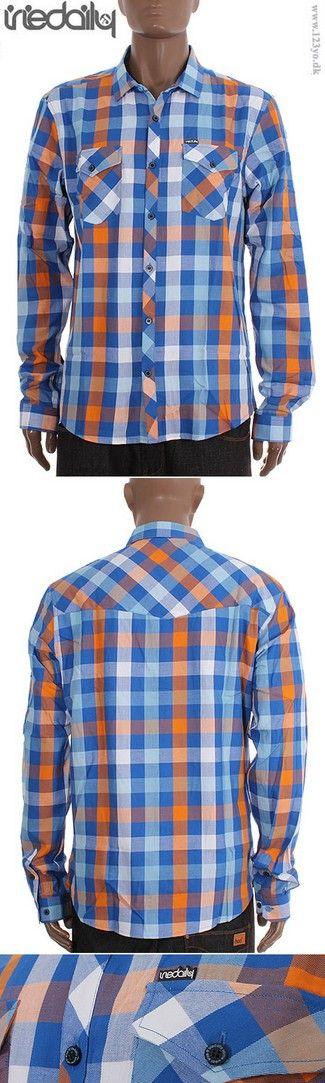 IrieDaily Langærmet Ternet skjorte