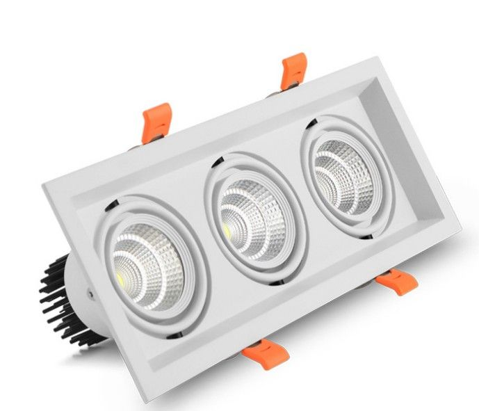 Recessed Led Cob Grille Downlight