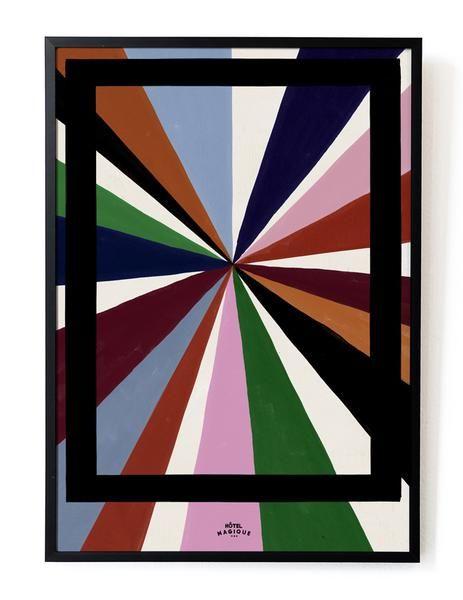 HOTEL MAGIQUE Magique color palette art print SHOP ONLINE