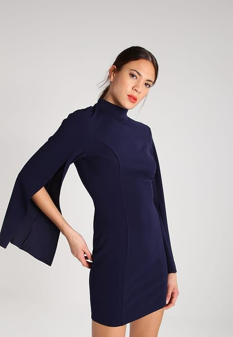 Missguided Jersey dress - navy for £28.99 (17/01/17) with free delivery at Zalando