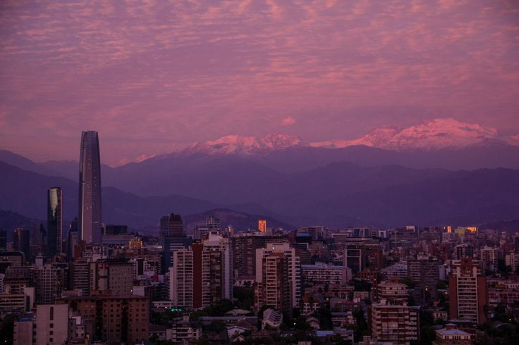 Santiago, Chile by Stephanie Walsh on 500px