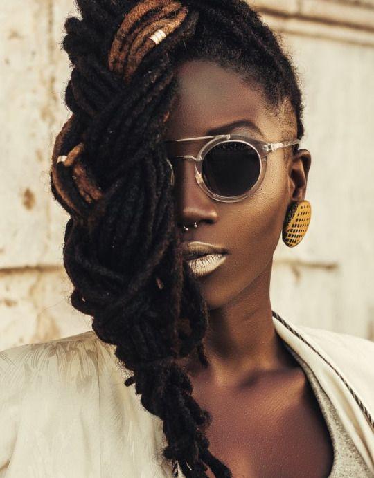 Astonishing 17 Best Ideas About Black Women Dreadlocks On Pinterest Dreads Short Hairstyles For Black Women Fulllsitofus