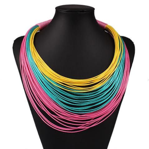 Necklace - MultiChain Statement Necklace
