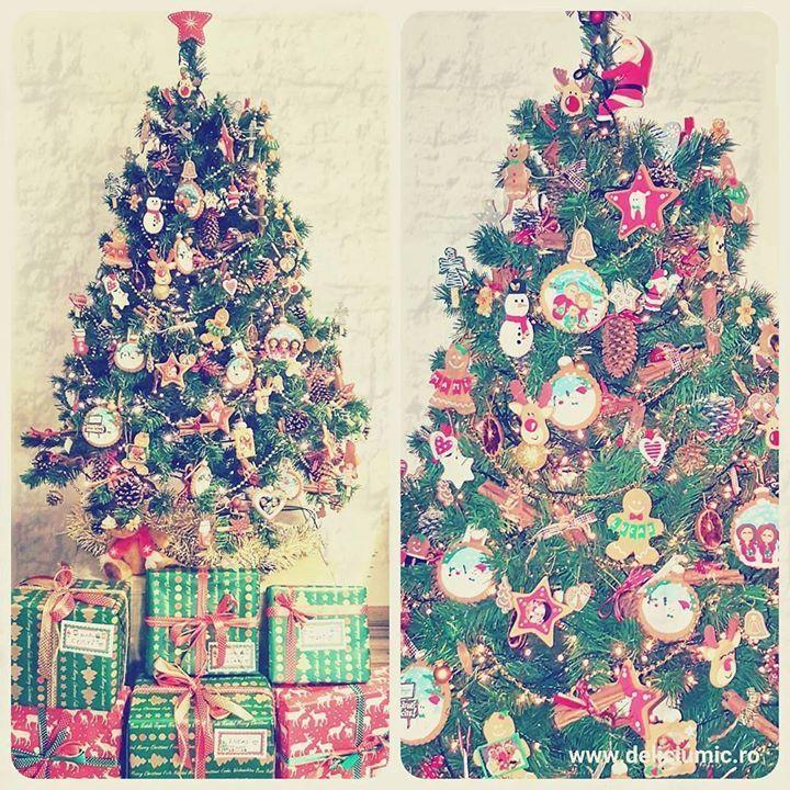 Bradutul Deliciu Mic decorat numai cu ornamente handmade  - http://ift.tt/1ipRjKg -