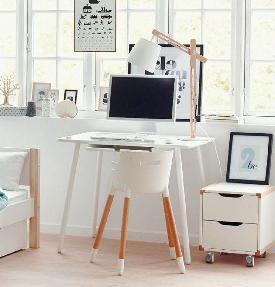 Zona de estudio flexa for Ikea mesas escritorio ninos