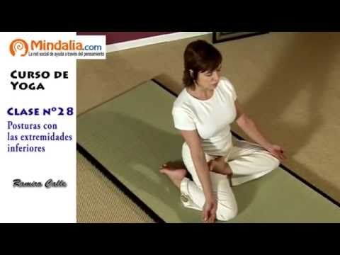 M Posturas con las extremidades inferiores por Ramiro Calle. CLASE DE YOGA 28 - YouTube