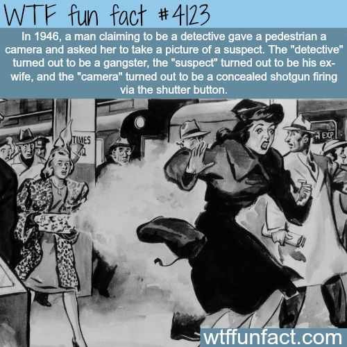The best way to kill someone - WTF fun facts