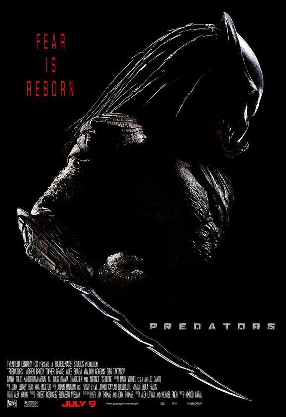 Predators 1, 2, 3 - 100 I dont care how many they make! Ill always watch them and be a fan!