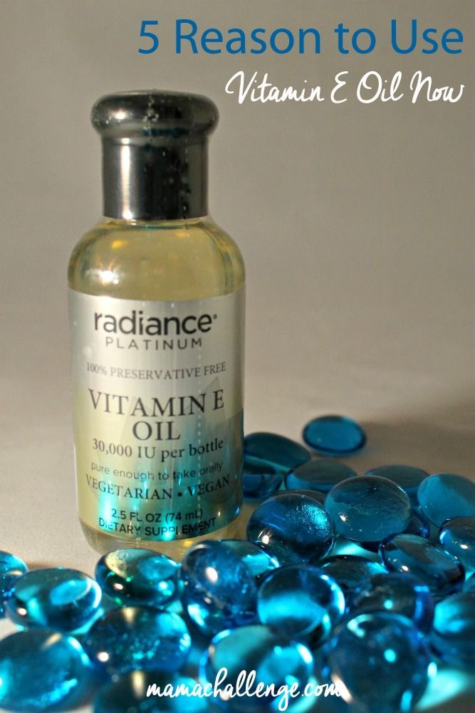 Listen up Moms! 5 Reasons to Use Vitamin E Oil Now with @CVS_Extra from @mamachallenge!