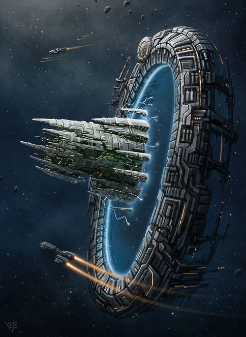 Star Gate by Leonovich Dmitriy