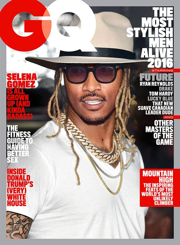 "Appearing on May 2016 issue of GQ US, Future doesn't believe in slowing down. Last year he released his third album ""DS2"" and joint mixtape ""What A Time To Be Alive"" with Drake. His 4th album ""EVOL"" came out this February."