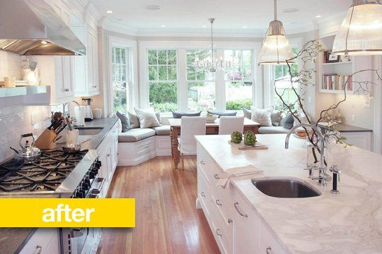 Kitchen Before & After: A 1980s Kitchen Gets a Chef-Caliber Makeover — Professional Kitchen Remodel