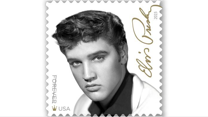 Elvis Presley Named 'Music Icon' With Postal Service 'Forever ...