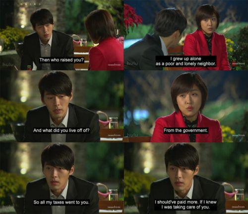 Secret garden, korean drama, hyun bin, ha ji won... Awww in a funny way lol