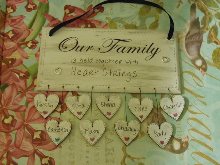 ..bespoke personalised handmade wooden / mdf plaques - shabby chic - door plaques Plaques by HeartyCrafts on Facebook