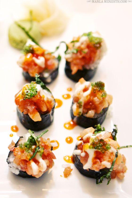 Mmmmmm. Sushi! Cosmo Restaurant | Fine Dining in Telluride, CO | FamilyFreshCooking.com