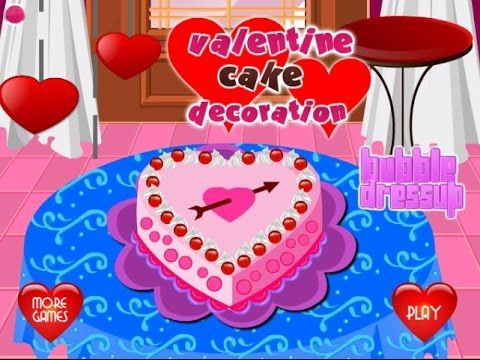 Valentine Cake Decoration - Game Tutorial 2016