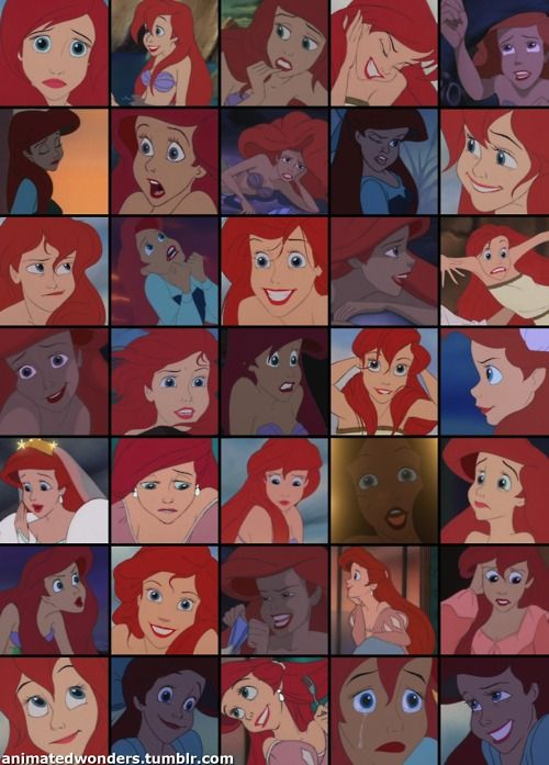 The many faces of Ariel