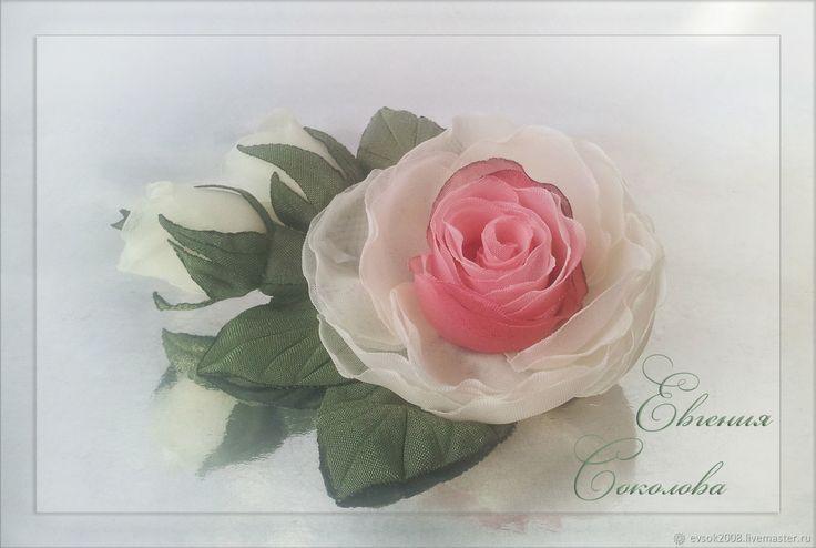 Купить Розы в прическу на зажиме в интернет магазине на Ярмарке Мастеров