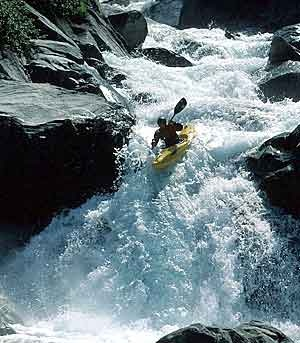 Whitewater Kayaking!